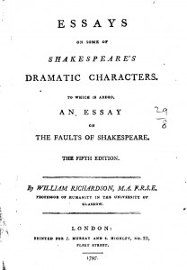 Essay On Good Friend Example  Essays On Some Of Shakespeares Dramatic Characters  Dcrmb  Examples Essays About Deforestation also Purpose Of Persuasive Essay Example  Essays On Some Of Shakespeares Dramatic Characters  College Essay Writing Samples